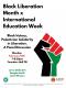 International Ed Week + BLM